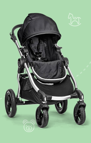 Poussette City Select de Baby Jogger
