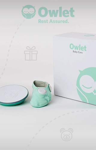 Owlet Baby Monitor – Infant Heart Rate and Oxygen Monitor