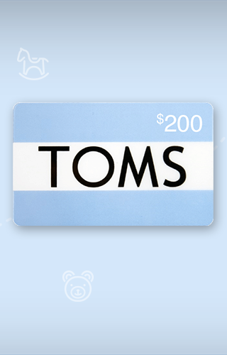 $200 TOMS Gift Card Sweepstakes
