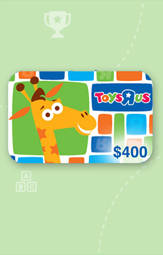$400 Toys R Us Gift Card
