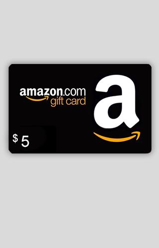 Tarjeta de Regalo de $5 de Amazon.com