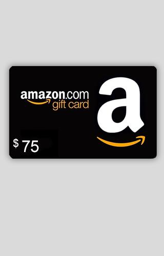 $75 Amazon.com Gift Card