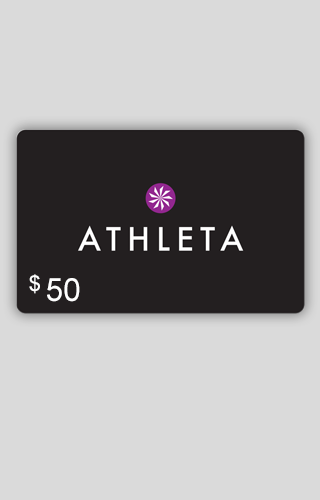 $50 Athleta Carte-Cadeau