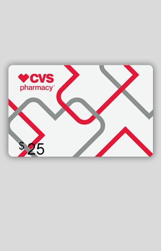 $25 CVS/pharmacy Carte-Cadeau