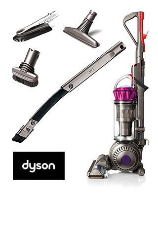 Dyson Upright Vacuum and Dyson Full Cleaning Kit Sweepstakes