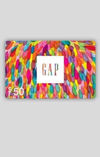 $50 Gap Carte-Cadeau