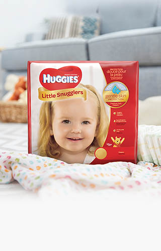 Huggies® Little Snugglers, Big Pack (available in sizes N-2)