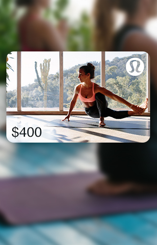 $400 Lululemon Gift Card
