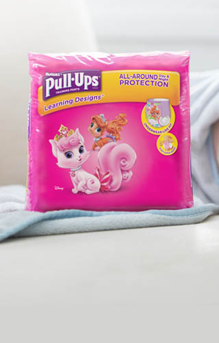Pull-Ups® Learning Designs® Training Pants for Girls (available in sizes 2T-3T)