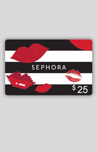 Tarjeta de Regalo de $25 de Sephora