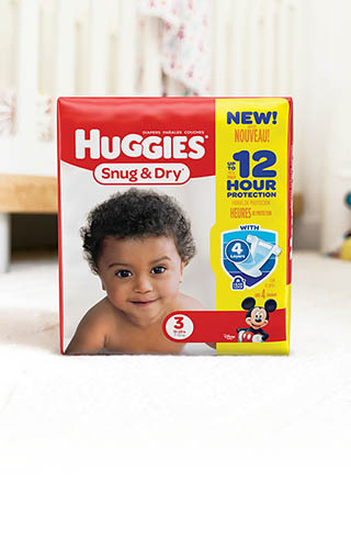 Huggies® Snug & Dry, Big Pack (available in sizes 1-6)